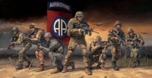 """Paratroopers Answering the Call"""